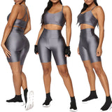 Legging Shorts Biker Compression Sport