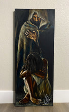 "Load image into Gallery viewer, Man of Sorrows - 16""x40"""