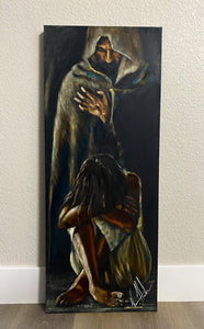 "Man of Sorrows - 16""x40"""