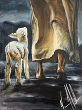 "Load image into Gallery viewer, My Sheep Listen to My Voice - 18""x24"""