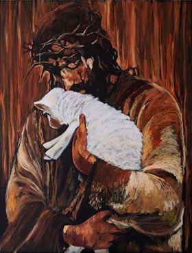 Jesus and the Lamb - 11