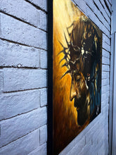 "Load image into Gallery viewer, The Roar of Our Savior - 36""x36"" Original Acrylic Painting"