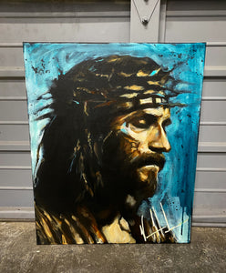 "Jesus, Savior, Son of the Living God - 16""x20"""