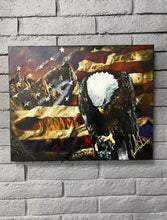 "Load image into Gallery viewer, A Nations Mourning - 24""x30"" Original Acrylic Painting"