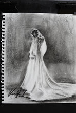 "Load image into Gallery viewer, Daughter's Light - 11""x14"" Original Charcoal Sketch"
