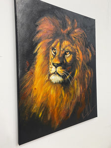 "Courageous Strength - 16""x20"" Original Acrylic Painting"