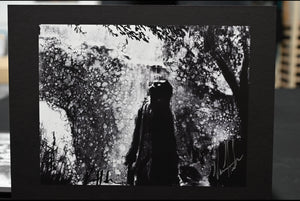 "Jesus in the Garden of Gethsemane - 8.5""x11"" Gloss Print"