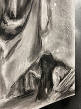 "Load image into Gallery viewer, Jesus Healer - 11""x14"" Original Charcoal Sketch"