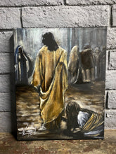 "Load image into Gallery viewer, Jesus Healer - 16""x20"" Original Acrylic Painting"