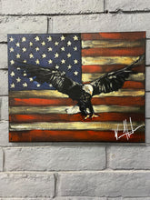 "Load image into Gallery viewer, Liberty - 16""x20"" Original Acrylic Painting"
