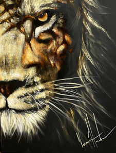 "Heart of a Lion - 18""x24"""