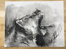 "Load image into Gallery viewer, Rally Cry - 11""x14"" Original Charcoal Sketch"
