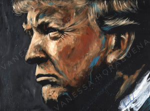 "Donald Trump Portrait - 11""x14"" Gloss Print"