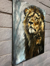 "Load image into Gallery viewer, The Grace of a King - 16""x20"" Original Acrylic Painting"