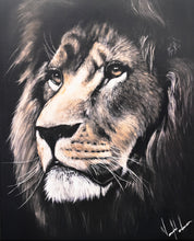 "Load image into Gallery viewer, Majestic Lion - 12""x15"" Gloss Print"
