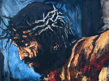 "Load image into Gallery viewer, By His Wounds We Are Healed - 30""x40"" Original Acrylic Painting"