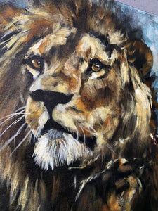 "The Grace of a King - 16""x20"" Original Acrylic Painting"