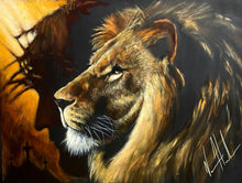 "Load image into Gallery viewer, The Lion of Judah - 30""x40"""