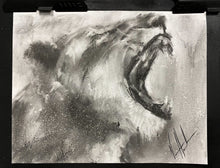 "Load image into Gallery viewer, Sound of My Heart - 11""x14"" Original Charcoal Sketch"