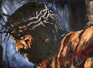 "By His Wounds We Are Healed - 11""x14"" Gloss Print"