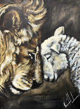 "Load image into Gallery viewer, Compassion of a King - 30x40"" Original Acrylic Painting"