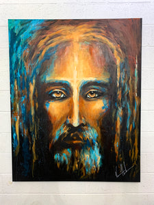 "The Shroud of Turin - 48""x60"""