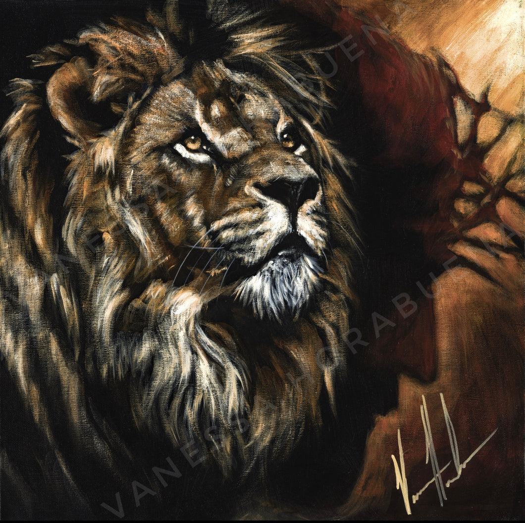 "King of Kings - 12""x12"" Gloss Print"