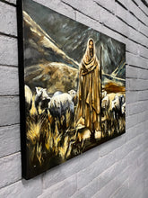 "Load image into Gallery viewer, The Lord is My Shepherd - 24""x30"" Original Acrylic on Canvas"