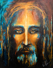 "Load image into Gallery viewer, The Shroud of Turin - 48""x60"""