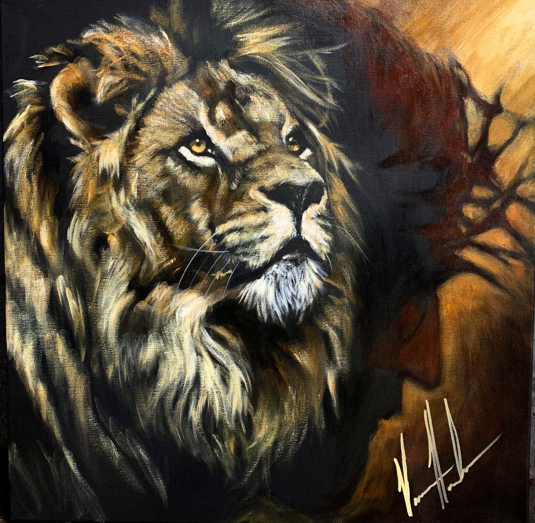 "King of Kings - 20""x20"""