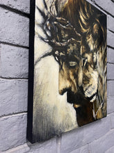 "Load image into Gallery viewer, Humble King - 16""X20"" Original Acrylic Painting"