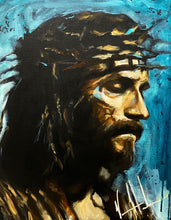 "Load image into Gallery viewer, Jesus, Savior, Son of the Living God - 16""x20"""