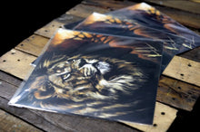 "Load image into Gallery viewer, King of Kings - 12""x12"" Gloss Print"