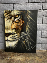 "Load image into Gallery viewer, Heart of a Lion - 18""x24"""