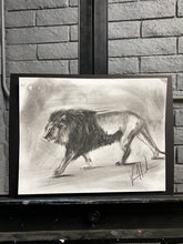 "Load image into Gallery viewer, New Ground - 11""x14"" Original Charcoal Sketch"