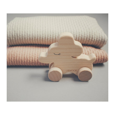 Vintage Solid Wood Baby Toy