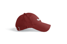 Load image into Gallery viewer, J Feather Dad Hat Maroon
