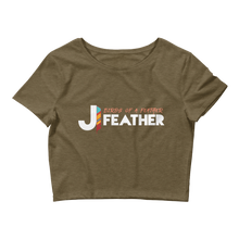Load image into Gallery viewer, Birds of a Feather Crop Tee