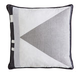 Charlie Square Linen Cushion | Paloma, Cloud & Snow White