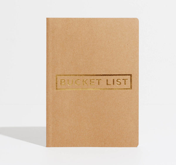 Bucket List Notebook | Varied Colours