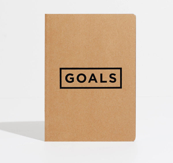 Goals Notebook | Varied Colours