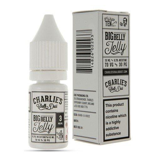 Charlie's Chalk Dust - Big Belly Jelly 10ml E-Liquid Vape Emporium