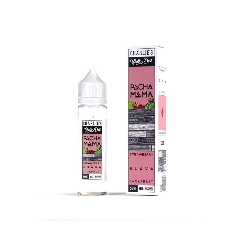 Pacha Mama - Strawberry, Guava & Jackfruit 50ml Short Fill E-Liquid Vape Emporium Store