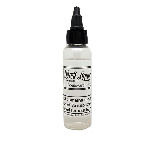 Wick Liquor Big Block - Boulevard 50ml Shortfill E-Liquid Vape Emporium Store