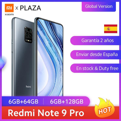 Versão global xiaomi redmi nota 9 pro 64gb 128gb snapdragon 720 nfc smartphone 64mp quad camera pro 30w fc telefone móvel
