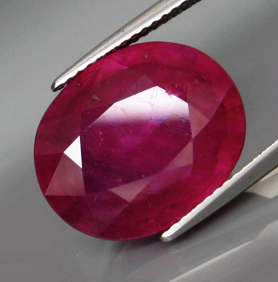 Rubin 16x13 Oval 13,2 Ct!!!