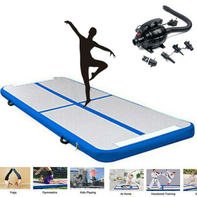Air Inflatable Track Tumbling Gymnastics Mat Tumble Yoga Training water sports