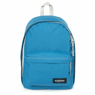 Eastpak Out Of Office EK76724L Side Blue Laptop Backpack Volume 27L