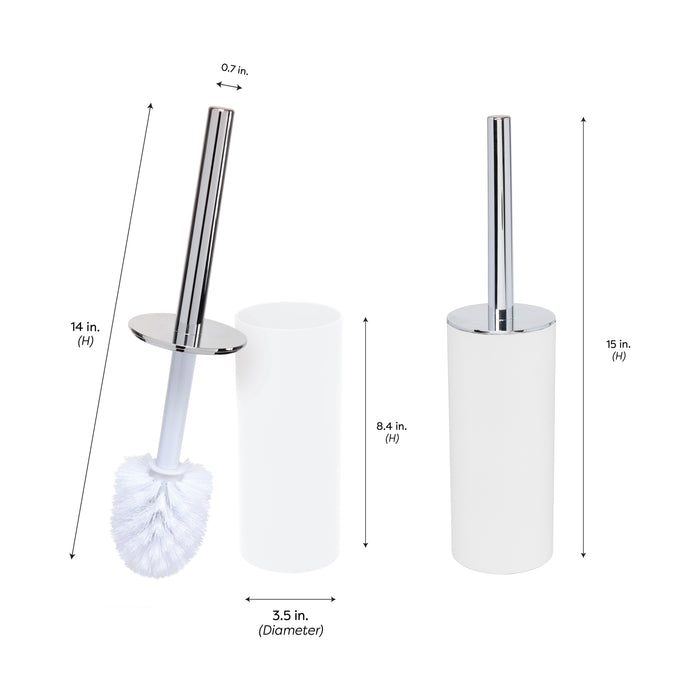 SOFT TOUCH TOILET BRUSH HOLDER MAWH