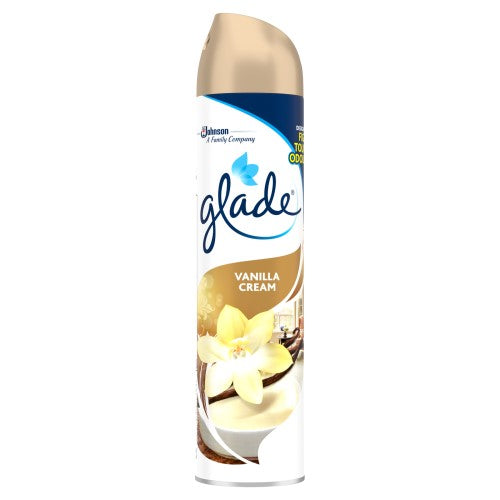 Glade Aerosol Spray 300ml - Vanilla Cream